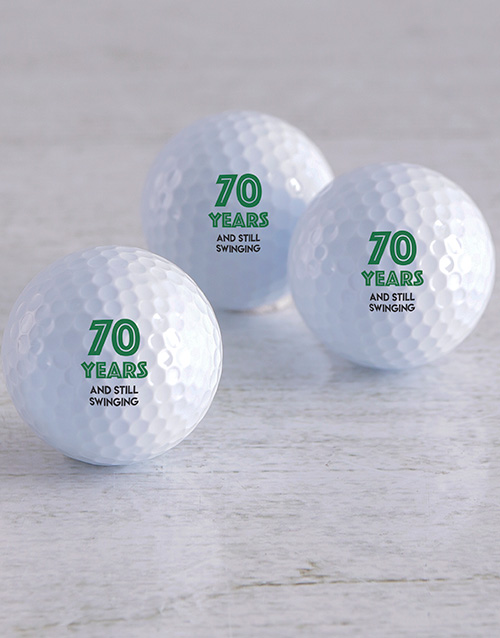 activewear: Personalised Still Swinging Golf Balls!