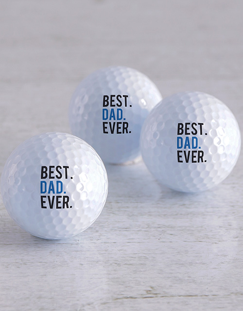 personalised: Personalised Best Ever Golf Balls!