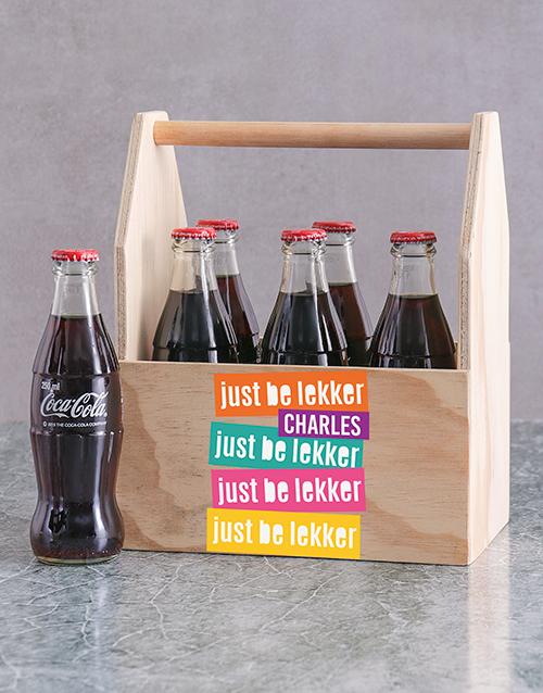 birthday: Personalised Be Lekker Man Crate!