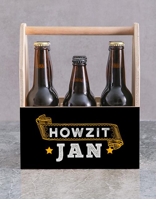 personalised: Personalised Howzit Man Crate!