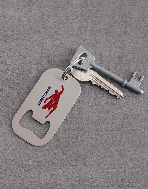 gadgets: Personalised Super Metal Keyring!