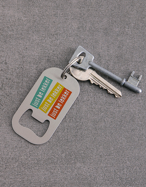 gadgets: Personalised Be Lekker Metal Keyring!