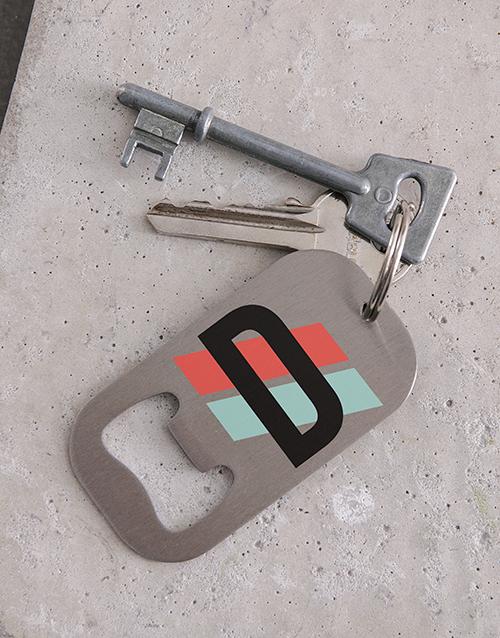 gadgets: Personalised Initial Metal Keyring!