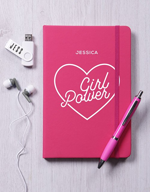 gadgets: Personalised Girl Power Tech Hamper!