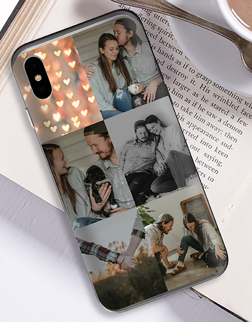 personalised: Personalised Six Photo iPhone Cover!