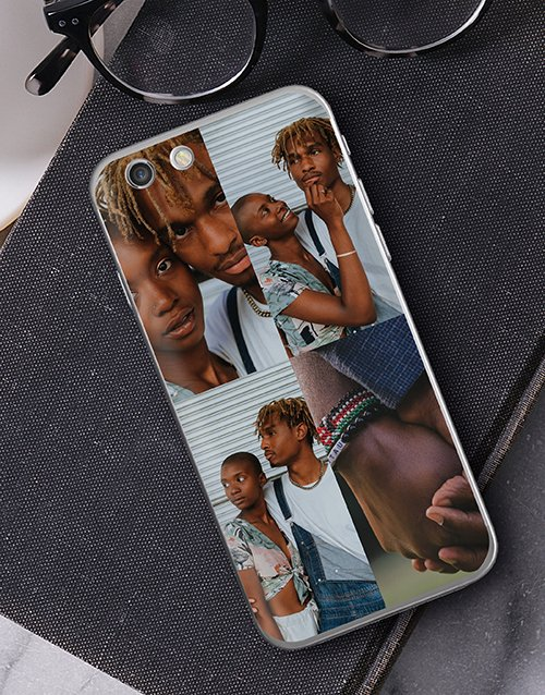 personalised: Personalised Four Photo iPhone Cover!