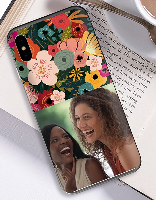 personalised: Personalised Photo Floral iPhone Cover!