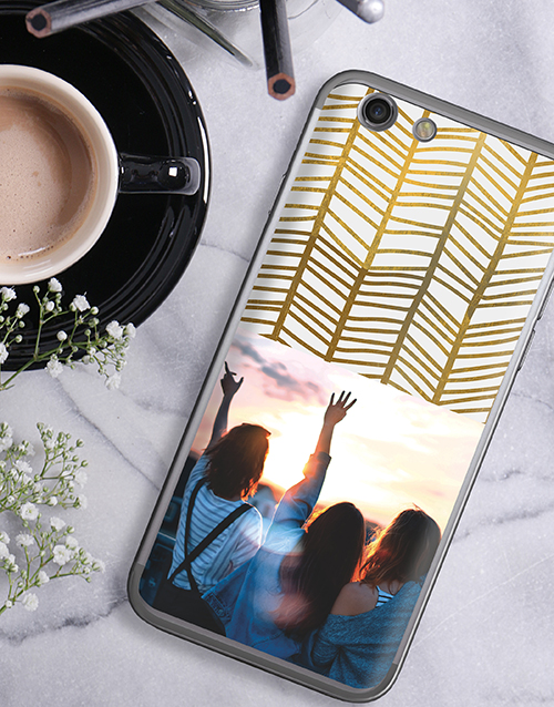 personalised: Personalised Golden Photo iPhone Cover!