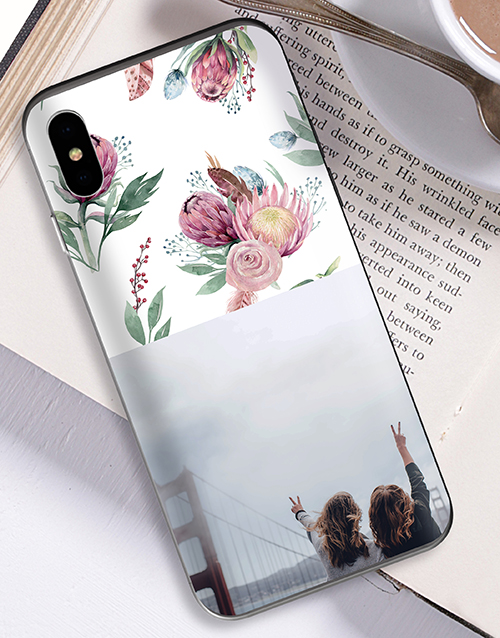 personalised: Personalised Protea Photo iPhone Cover!