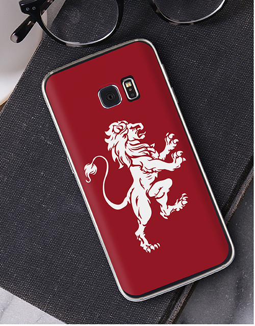 birthday: Personalised Lionheart Samsung Cover!