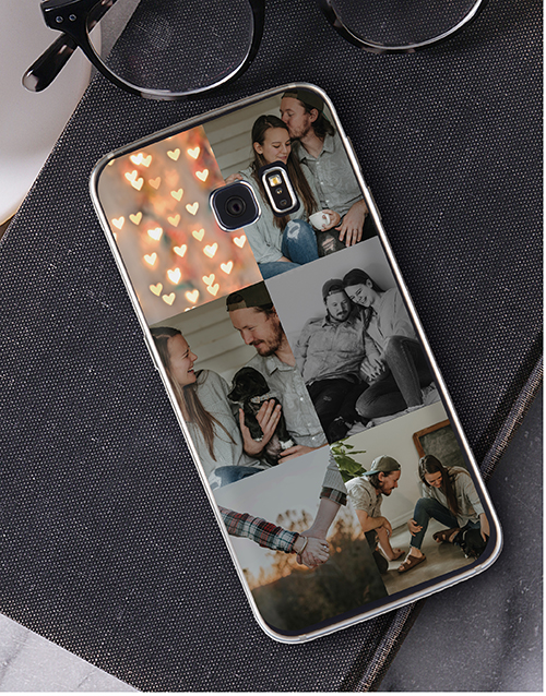 birthday: Personalised Six Photo Samsung Cover!