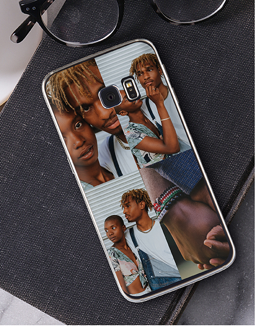valentines-day: Personalised Four Photo Samsung Cover!