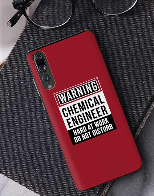 bosses-day: Personalised Warning Huawei Cover!