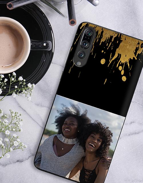 christmas: Personalised Splash Photo Huawei Cover!