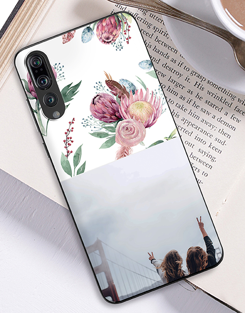 womens-day: Personalised Protea Photo Huawei Cover!