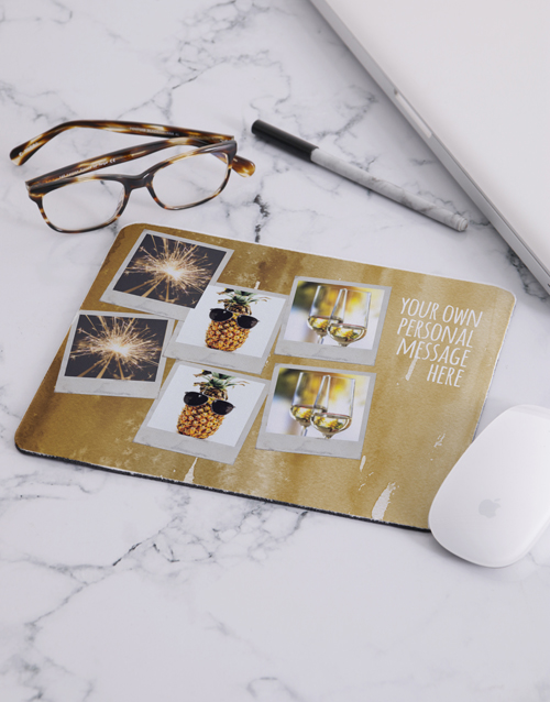 christmas: Personalised Family Photo Collage Mousepad!