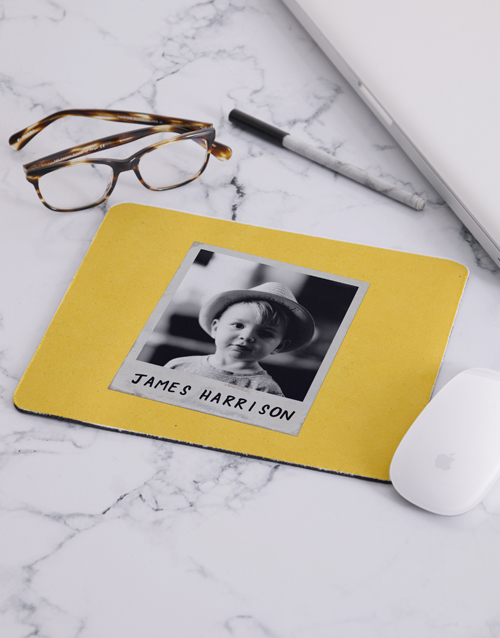christmas: Personalised Remember This Kid Photo Mousepad!