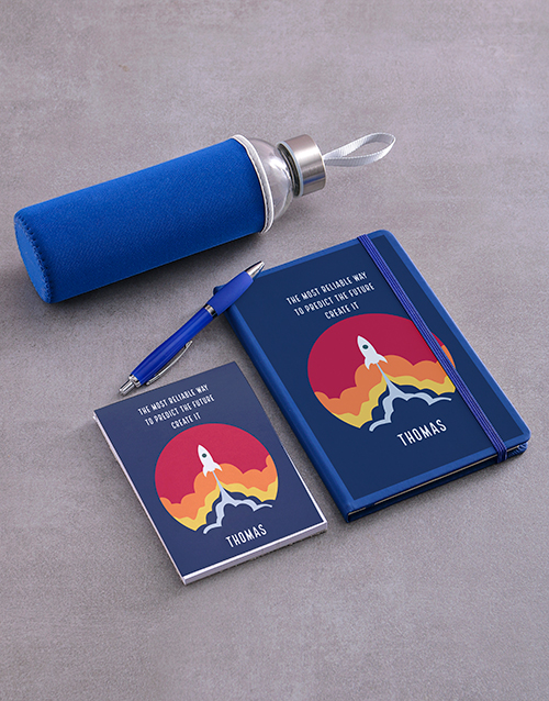 personalised: Personalised Predict The Future Go Stationery Set!