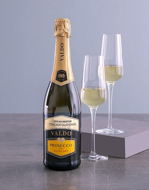 fine-alcohol: Personalised Valdo Prosecco!