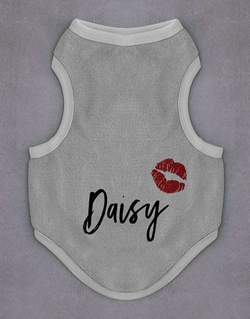 personalised: Personalised Smooches Dog Jersey!