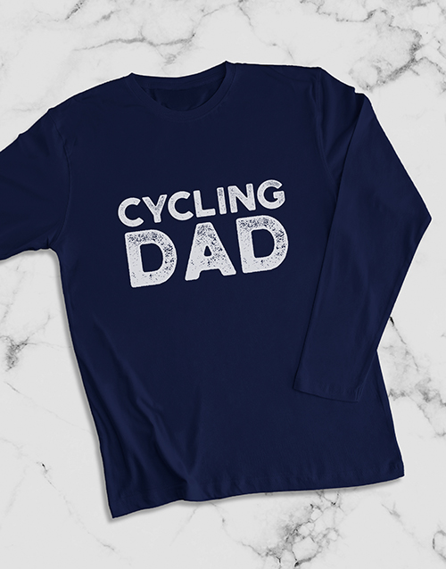 fathers-day: Personalised Modern Dad Long Sleeve T Shirt!