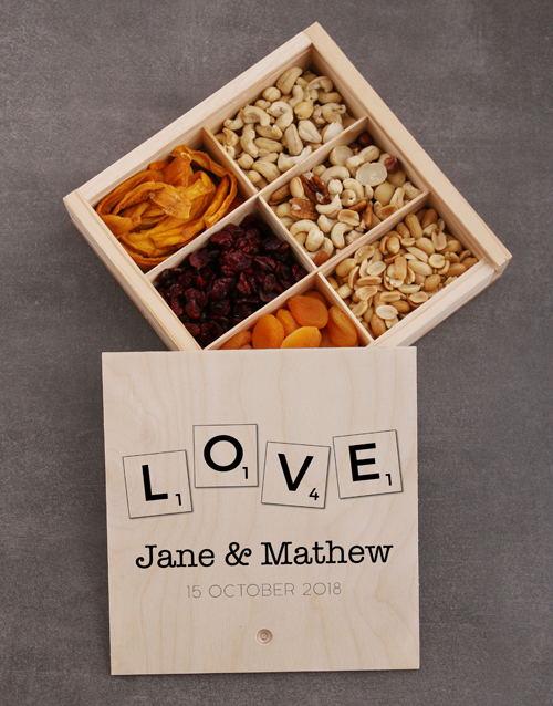 valentines-day: Personalised Love Snack Crate!