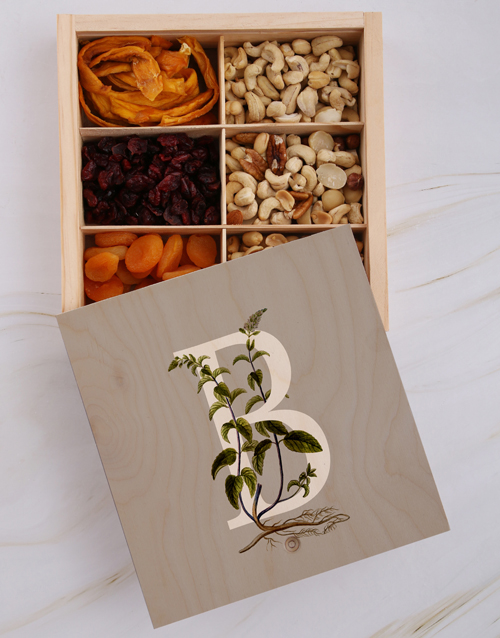 womens-day: Personalised Initial Snack Crate!