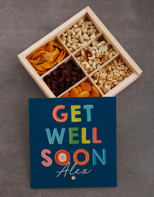 get-well: Personalised Get Well Snack Crate!
