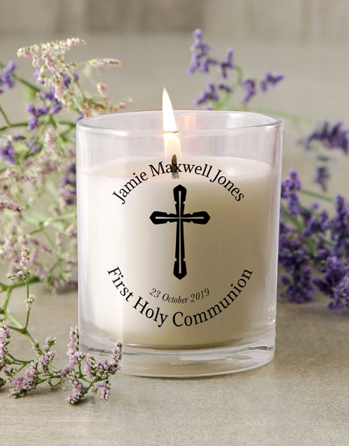 personalised: Holy Communion Candle!