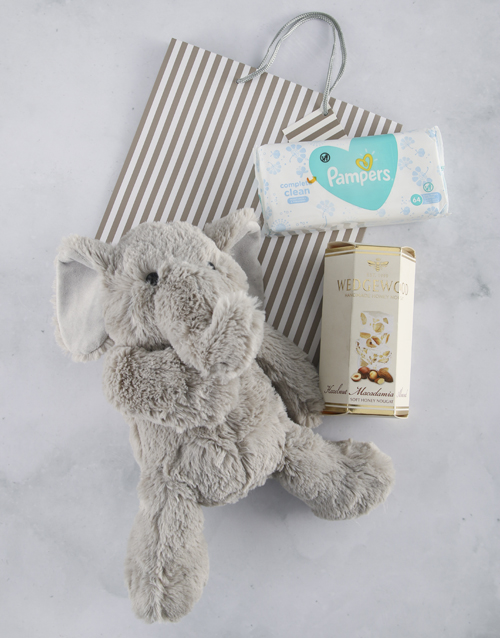 baby: New Baby Nougat and Elephant Gift Bag!