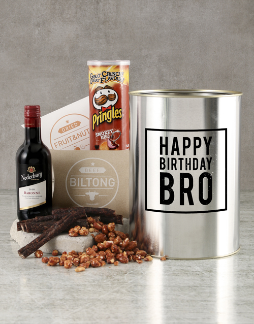 gourmet: Happy Birthday Bro Bucket!