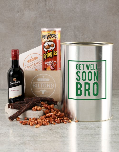 fine-alcohol: Get Well Soon Bro Bucket!