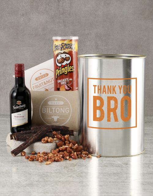 fine-alcohol: Thank You Bro Bucket!