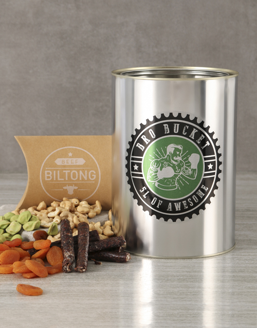 fine-alcohol: Biltong and Nuts Bro Bucket!