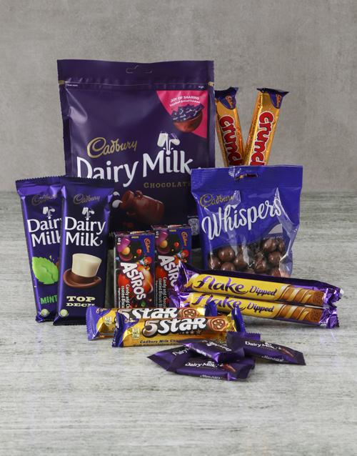 christmas: Decadent Cadbury Hamper!