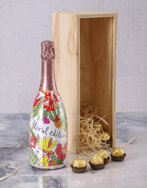 mothers-day: Valdo Floral Prosecco Crate!
