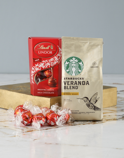 coffee-and-tea: Starbucks and Lindt Hamper!
