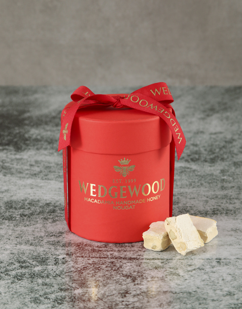 new-years: Bubbly and Cuddles Red Nougat Hatbox!