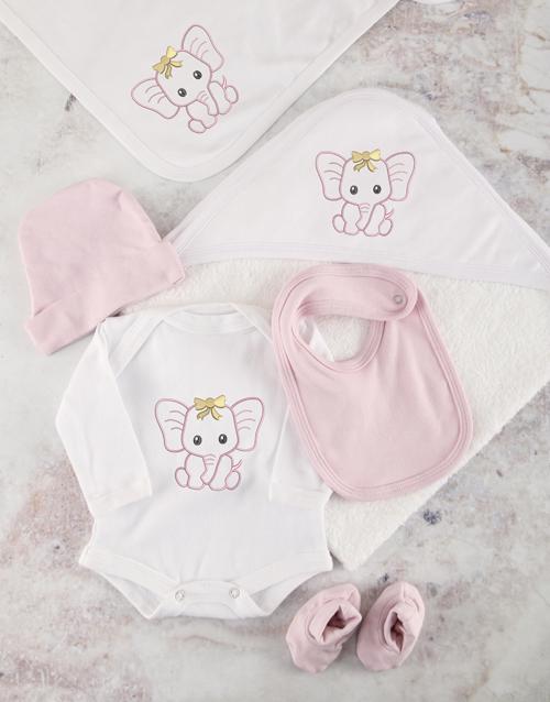 apparel: Pink Ellie Baby Essentials Hamper!