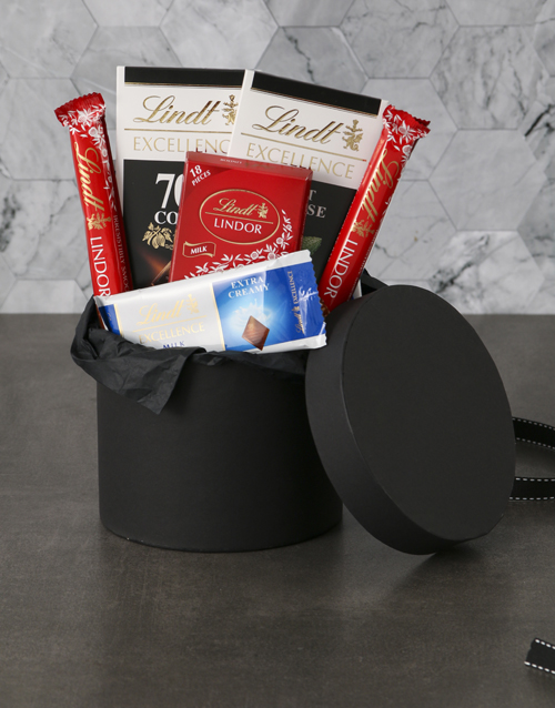 mothers-day: Lavish Lindt Hat Box!