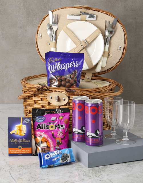 fathers-day: Keep It Classy Picnic Basket Hamper!