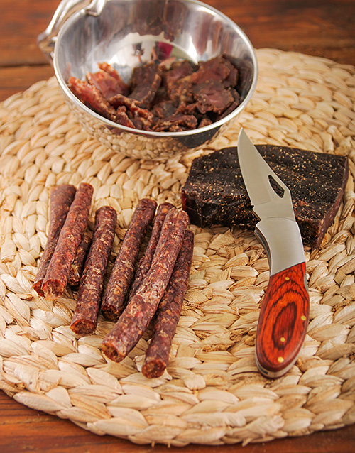 heritage-day: Biltong and Utility Knife Gift Set!