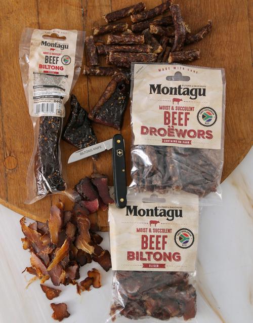 gourmet: Biltong and Utility Knife Gift Set!