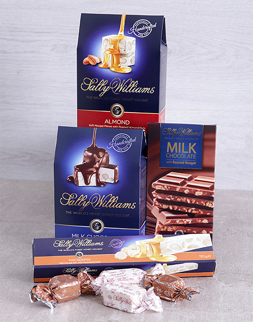 mothers-day: Sally Williams Nougat Gift Hamper!