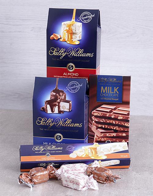 chocolate: Sally Williams Nougat Gift Hamper!