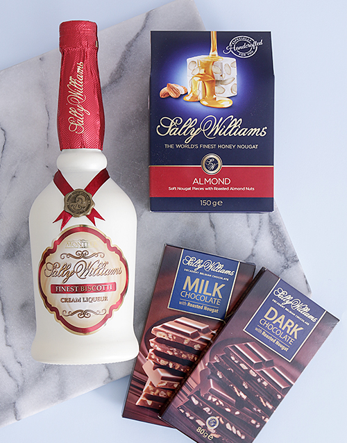 chocolate: Sally Williams Nougat and Biscotti Liqueur Gift!