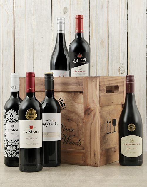 valentines-day: Crate of Six Red Wines!