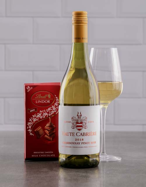 fine-alcohol: Duo of Haute Cabriere and Lindt Chocolate!