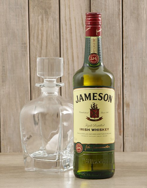 fine-alcohol: Jameson Whiskey & Crystal Decanter!