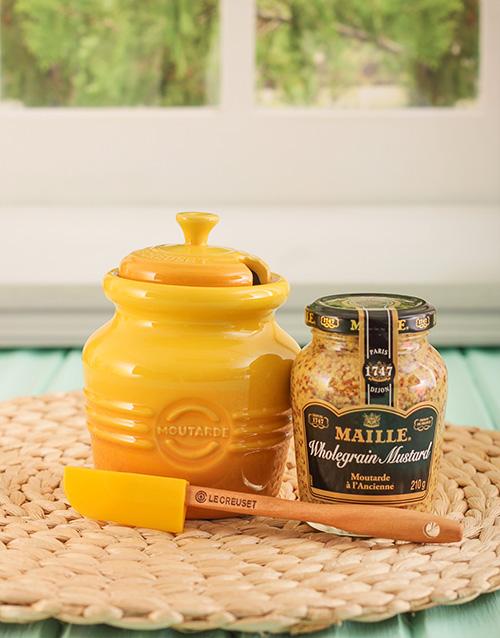 grandparents-day: Le Creuset Mustard Jar!